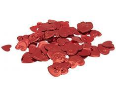 Beistle CN116 Red Hearts Konfetti, 1/2 Unze