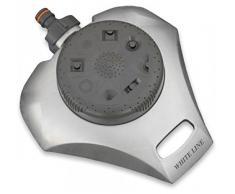 Bradas WL-8113 White line 8 - Funktionen Sprinkler aus Metall, grau, 10 x 10 x 3 cm