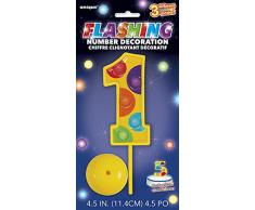 Unique 37031 Decoration Party-Deko, plastik, mehrfarbig