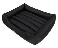 HobbyDog CORCZA2 Hundebett, Sofa, Korb Tierbett Comfort, Größe XL, 82 x 62 cm, schwarz