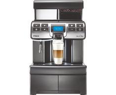 Saeco Aulika Top High Speed Cappuccino freistehend vollautomatisch 4L 2 Tassen schwarz - Kaffee (unabhängig 4 Liter, Kaffeebohnen, Mühle integriert, 1400 W, schwarz)