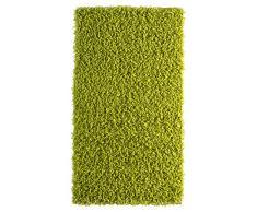 Andiamo 1100190 Teppich Vannes, Hochflorteppich - maschinell gewebt, 60 x 110 cm, grün