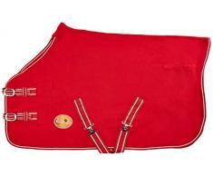 New Pferd COB Pony Shetland Mini Rot Show Travel Fleece Teppich 15,2 cm-6 3 22,9 cm stabile Kühler Wahl von Größen (3 15,2 cm).