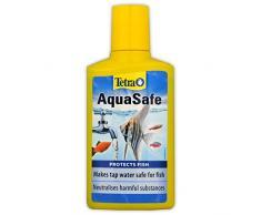Tetra AquaSafe verwandelt Leitungswasser in sicheres und gesundes Wasser für Fische und Pflanzen, 250 ml