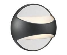 Nordlux Laterne Twin, Schwarz, Aluminium, 78771003