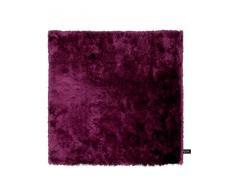 Benuta Shaggy Hochflor Teppich Whisper Quadratisch Lila 60x60 cm   Langflor Teppich für Schlafzimmer und Wohnzimmer