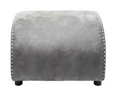 Kare Ritmo Vintage Grey Hocker, Andere, Grau, 60 x 52 x 40 cm