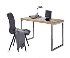 Wohnling WL1.788 Schreibtisch, Holz, akazie, 120 x 60 x 76 cm