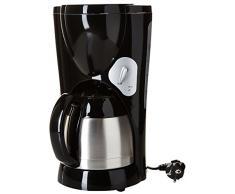 The Küchenzeile 4225010 Thermo Kaffeemaschine ELECTRIQUE + Schüssel schwarz