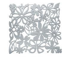 Koziol Raumteiler Alice, Kunststoff, transparent anthrazit, 0.3 x 27 x 27 cm