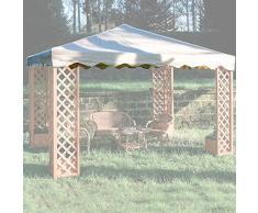Giardini del Re 50509 Abdeckung für Pavillon Maxima mit PVC-Beschichtung, Farbe: Ecru