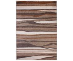 andiamo 1100250 Teppich Chadler, Webteppich, 60 x 110 cm, beige/braun