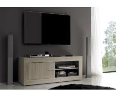 LC spa 201502-01 Rustica TV Schrank klein, Holz, braun, 140 x 42 x 56 cm