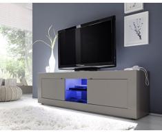 TV Schrank Basic 2-türig, 181 x 56 x 43 cm, beige matt