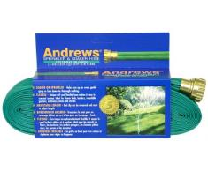 Andrews 100-foot 2 Tube Sprinkler Schlauch 10–12349