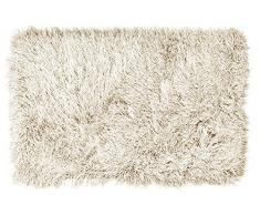 KONTRAST 3.26.080150EC Teppich Shaggy Inspiration, 80 x 150 cm, ecru