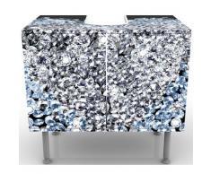 Apalis 52864 Waschbeckenunterschrank Diamant Herz, 60 x 55 x 35 cm