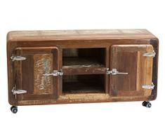 SIT-Möbel Fridge 2615-98 Lowboard 135x40x56, recyceltes Altholz, bunt lackiert