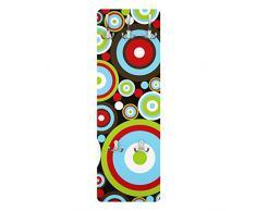 Apalis 78450 Wandgarderobe Abstract   Design Garderobe Garderobenpaneel Kleiderhaken Flurgarderobe Hakenleiste Holz Standgarderobe Hängegarderobe   139x46cm