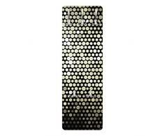 Apalis 78773 Wandgarderobe Disco Background | Design Garderobe Garderobenpaneel Kleiderhaken Flurgarderobe Hakenleiste Holz Standgarderobe Hängegarderobe | 139x46cm