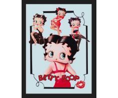 empireposter - Betty Boop - Various Poses - Größe (cm), ca. 30x40 - Maxi-Spiegel, NEU - Beschreibung: - Bedruckter Wandspiegel mit schwarzem Kunststoffrahmen in Holzoptik -