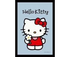 empireposter - Hello Kitty - Flower - Größe (cm), ca. 30x40 - Maxi-Spiegel, NEU - Beschreibung: - Bedruckter Wandspiegel mit schwarzem Kunststoffrahmen in Holzoptik -