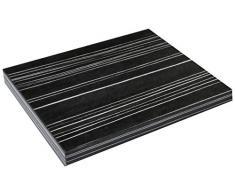 Regalwelt 9003-SL-BLB Wandregal Slim Livingboard, 30 x 25 x 1,9 cm
