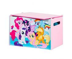 My Little Pony - Spielzeugkiste für Kinder – Aufbewahrungsbox für das Kinderzimmer