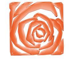 Koziol Raumteiler Romance, Kunststoff, transparent orange, 0.4 x 26.9 x 27 cm