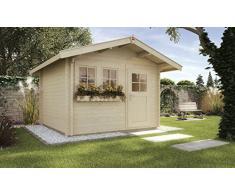 weka Gartenhaus 139 A Gr.3, 45 mm, V60, ET, DF