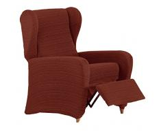 Eysa Aquiles elastisch Sofa überwurf relaxsessel Farbe 09-orange, Polyester-Baumwolle, 37 x 29 x 5 cm