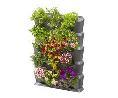 GARDENA NatureUp! Bewässerungsset Vertikal Wasserhahn: Bewässerungssystem für bis zu 27 Pflanzen, unsichtbare Bewässerung, Anschlussmöglichkeit für Bewässerungscomputer (13156-20)