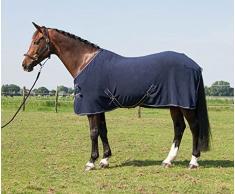 Harrys Horse 32200061-07185cm Fleecedecke ohne Halsteil, M, Marine