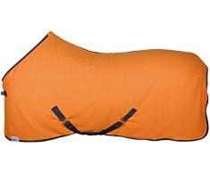 Harrys Horse 32204702-18165cm Fleecedecke Colors, M, orange