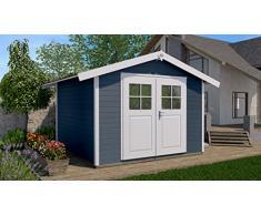 Haus des Jahres: Gartenhaus 122, anthrazit, 28 mm, V20 cm, DT