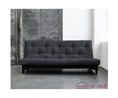 KARUP 117111734 Fresh Schlafsofa, Stoff, grau, 200 x 140 x 90 cm