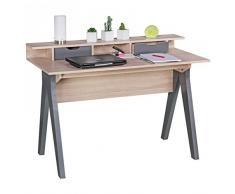 Wohnling WL1.790 Schreibtisch, Holz, sonoma, 120 x 60 x 86 cm