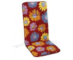 BEST Sesselauflage hoch, bunt, 120 x 50 x 6 cm, 5201780