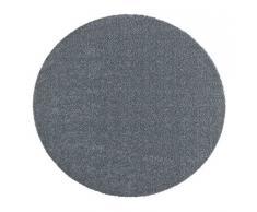 Hanse Home Waschbare Schmutzfangmatte Soft & Clean Grau rund, ø 75 cm