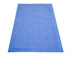Miltex Eazycare Pro Schmutzfangmatte, Polyamid & Nitril Gummi-Rücken, blau, 150 x 85 cm
