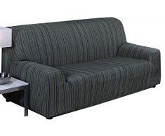 Martina Home Elastischer Sofabezug Modell Mejico 4 Plätze grün