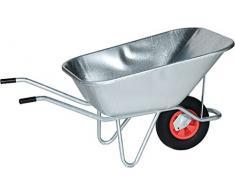 Schubkarre V 215-2 - Inhalt 175 l, Luftgummireifen - Einradkarren Schubkarren
