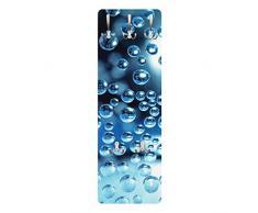 Apalis 78728 Wandgarderobe Dark Bubbels | Design Garderobe Garderobenpaneel Kleiderhaken Flurgarderobe Hakenleiste Holz Standgarderobe Hängegarderobe | 139x46cm