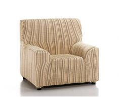 Martina Home Elastischer Sofabezug Modell Mejico 1 Platz beige