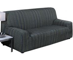 Martina Home Elastischer Sofabezug Modell Mejico 2 Plätze blau