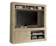 LC spa 201502-011 Rustica TV Schrank, Holz, braun, 140 x 42 x 162 cm