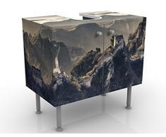 Apalis 52899 Waschbeckenunterschrank Die Große Chinesische Mauer, 60 x 55 x 35 cm