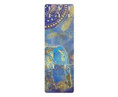 Apalis 78828 Wandgarderobe Elephant in Marrakech | Design Garderobe Garderobenpaneel Kleiderhaken Flurgarderobe Hakenleiste Holz Standgarderobe Hängegarderobe | 139x46cm