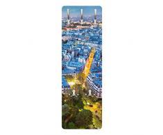 Apalis 79288 Wandgarderobe Paris | Design Garderobe Garderobenpaneel Kleiderhaken Flurgarderobe Hakenleiste Holz Standgarderobe Hängegarderobe | 139x46cm