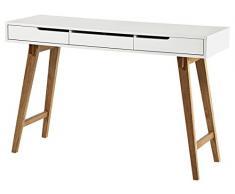 Robas Lund, Tisch, Schminktisch, Anneke S, MDF/Weiß, 40 x 120 x 78 cm, 40136WB4